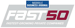 Nashville Business Journal Fast 50 Fasting-Growing Private Companies 2017 & 2018